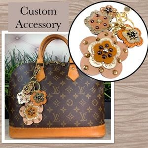 Accessories - Leather Charms Custom Keychain/Accessory